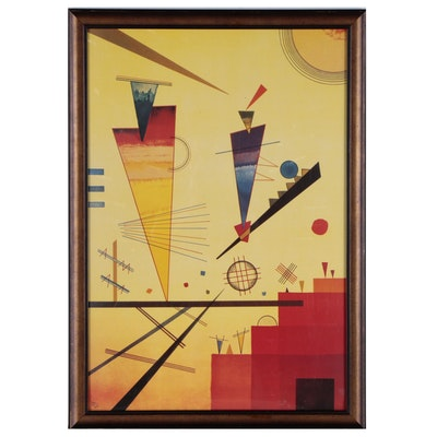 """Offset Lithograph after Wassily Kandinsky """"Merry Structure"""""""