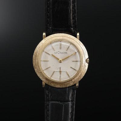14K LeCoultre Stem Wind Wristwatch