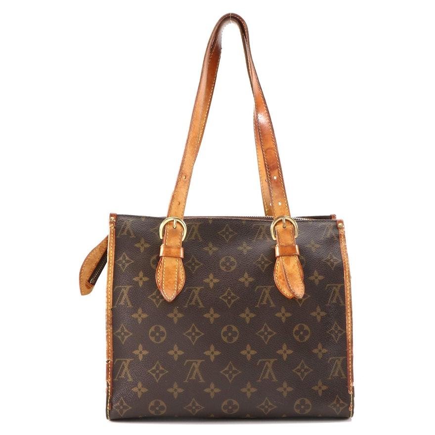 Louis Vuitton Popincourt Haut Bag in Monogram Canvas and Vachetta Leather
