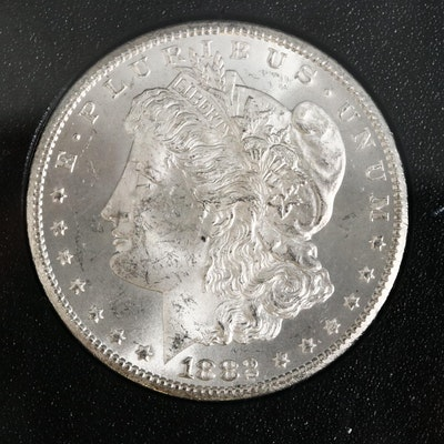 GSA Uncirculated 1882-CC Morgan Silver Dollar