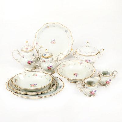 "Hutschenreuther-Pasco ""Mayfair"" Porcelain Serveware"