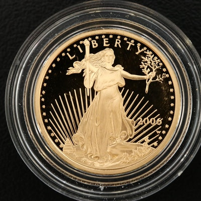 2006-W 1/4 Oz. $10 Gold Eagle Proof Bullion Coin