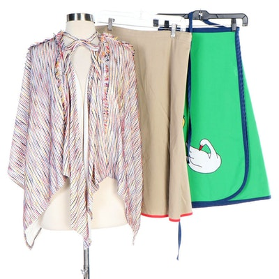 Themed Wrap Skirts and Striped Capelet Including Helen Smith and Cherry Hill