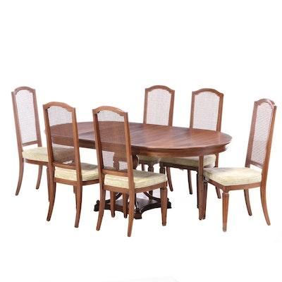 Davis Cabinet Mediterranean Style Cherry Dining Set