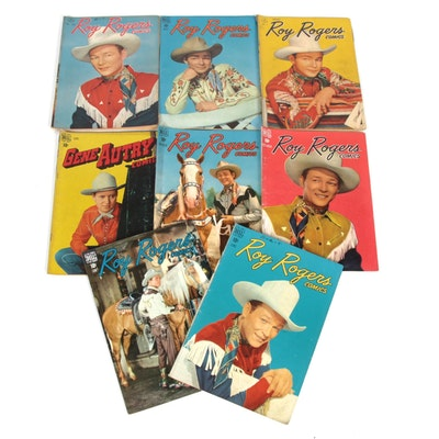 "Golden Age ""Roy Rogers Comics"" with Issue 1"