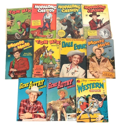Golden Age Western Comics with Dale Evans and Hopalong Cassidy