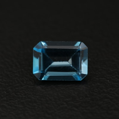 "Loose 1.14 CT ""London"" Blue Topaz"
