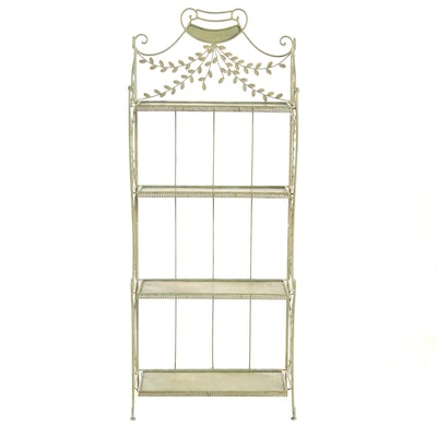 Painted Metal Etagere, Late 20th Century