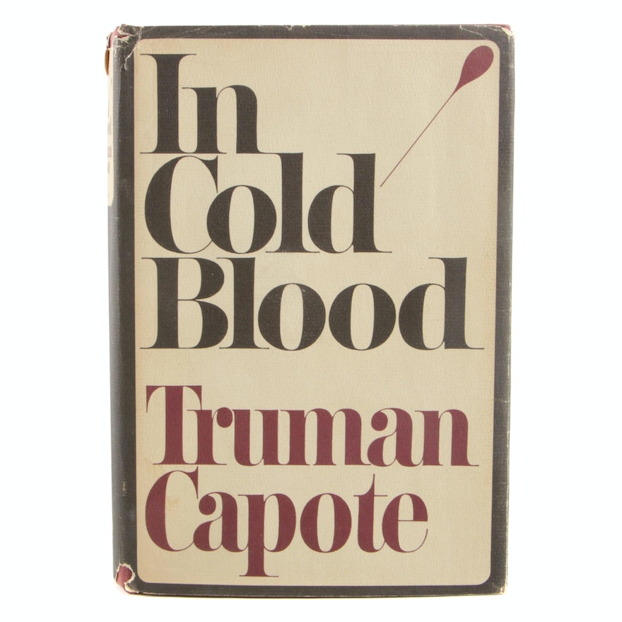 """First Printing Book Club Edition """"In Cold Blood"""" by Truman Capote"""