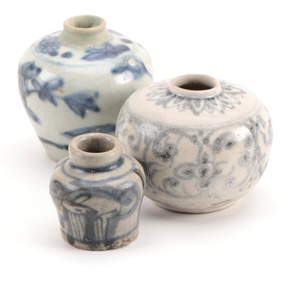 Chinese Blue and White Vases, Ming Dynasty