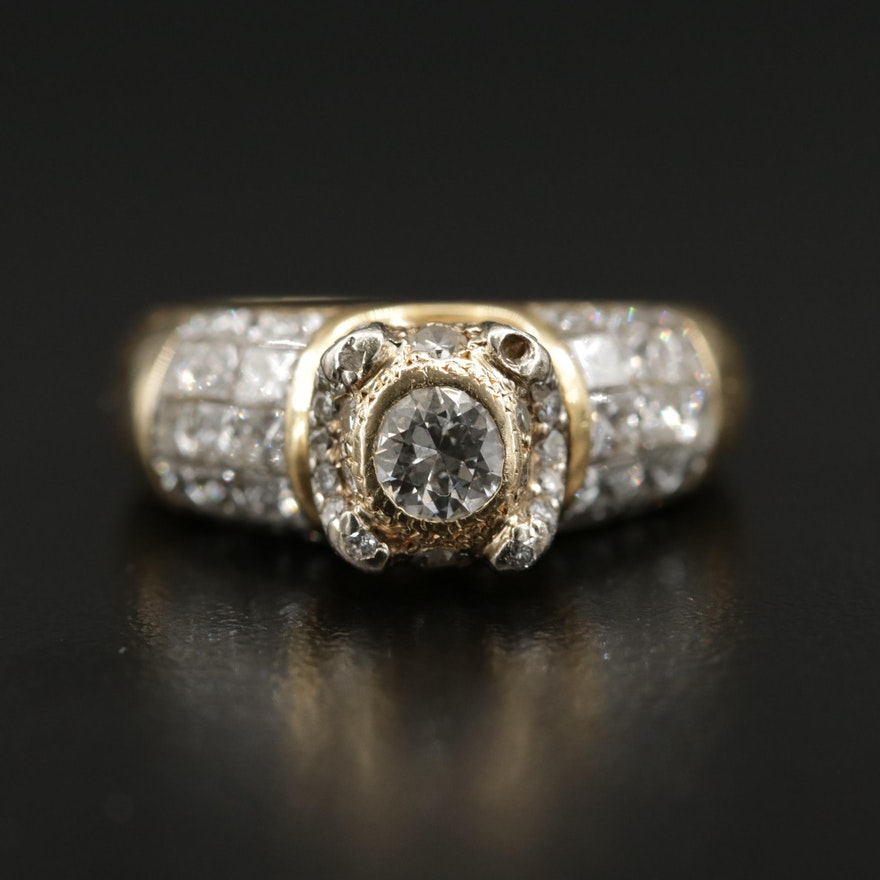 18K 2.72 CTW Diamond Ring