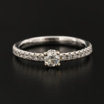 18K 0.58 CTW Diamond Ring