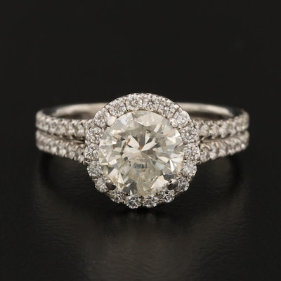 Krizanti 18K 2.92 CTW Diamond Ring