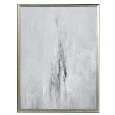 David Senecal Abstract Acrylic Painting