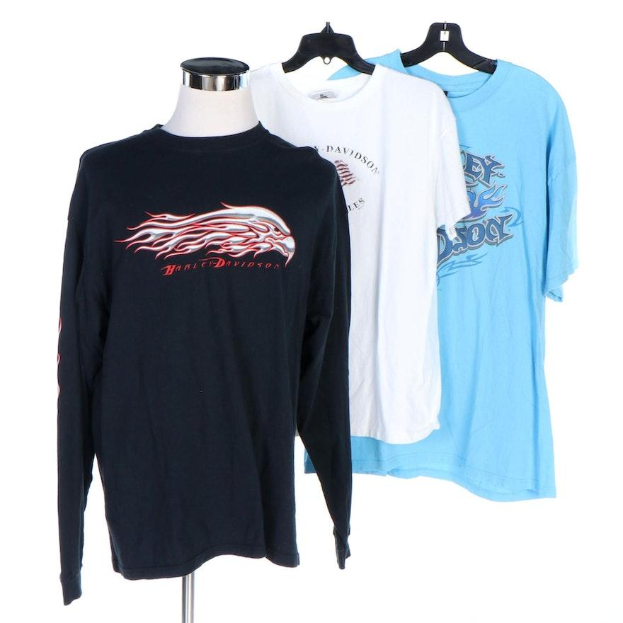 Men's Harley-Davidson Cotton Short and Long Sleeve T-Shirts