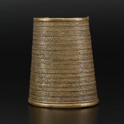 Tribal Bracer Cuff Bracelet