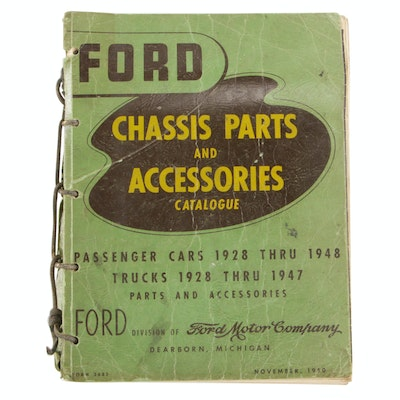"""Ford Chassis Parts and Accessories Catalogue"", 1950"