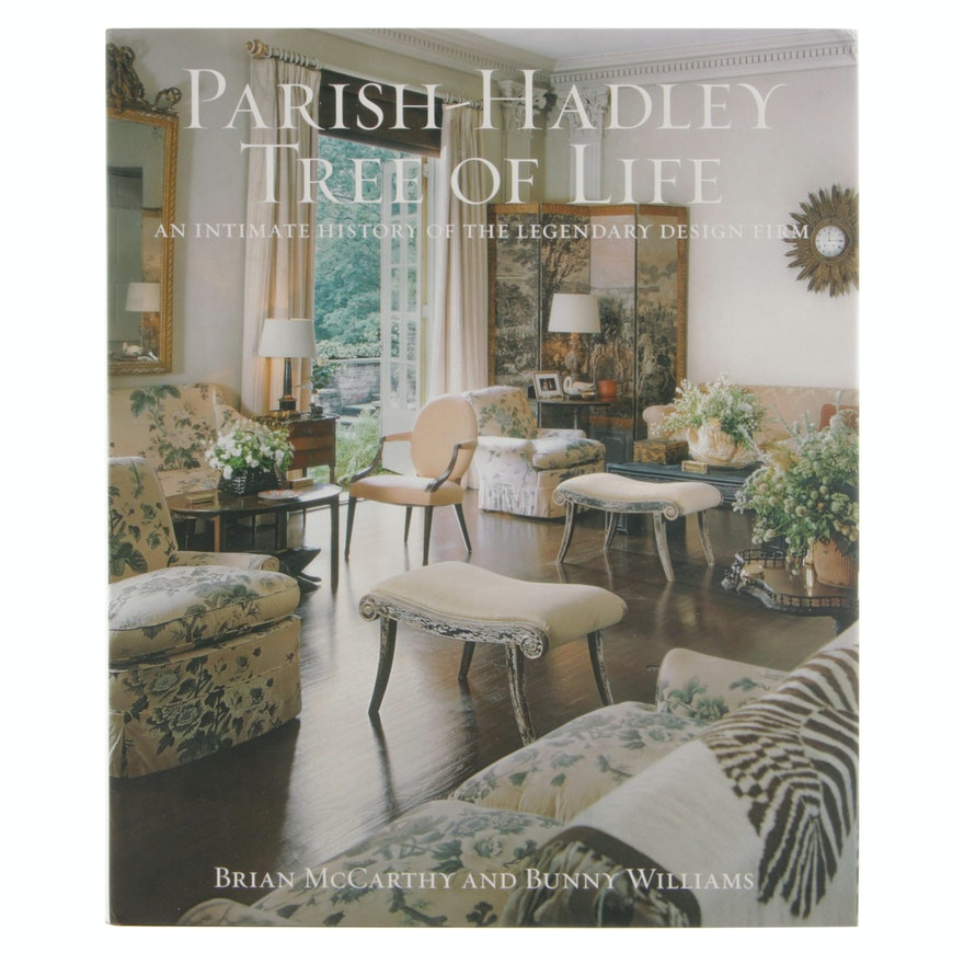 "First Printing ""Parish-Hadley Tree of Life"", Iconic Interior Design"