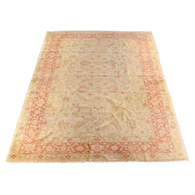 10'1 x 14'11 Hand-Knotted Indian Ziegler Wool Rug
