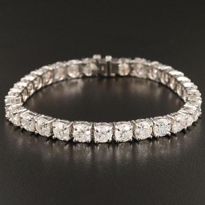 14K 17.59 CTW Diamond Line Bracelet