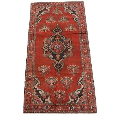 4'9 x 10'1 Hand-Knotted Persian Kolyai Wool Rug