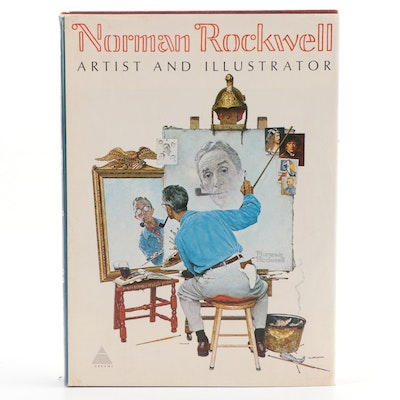 "Rockwell Signed ""Norman Rockwell: Artist and Illustrator"" by Thomas S. Buechner"
