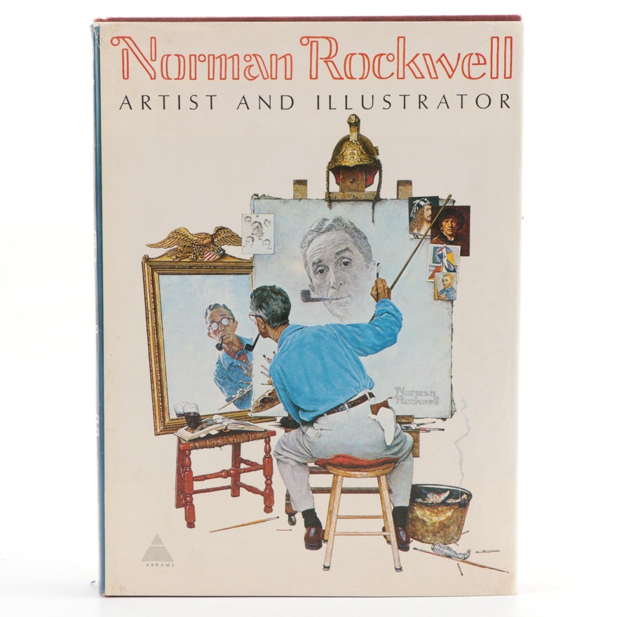 """Rockwell Signed """"Norman Rockwell: Artist and Illustrator"""" by Thomas S. Buechner"""