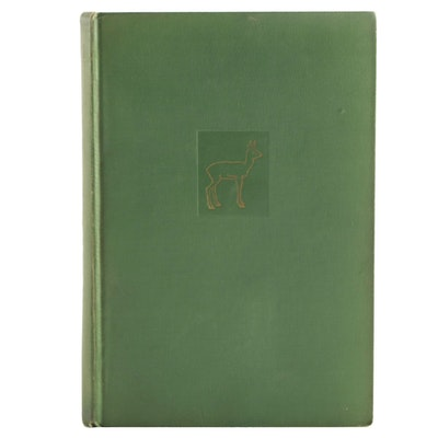 "1929 Early American Printing ""Bambi"" by Felix Salten"