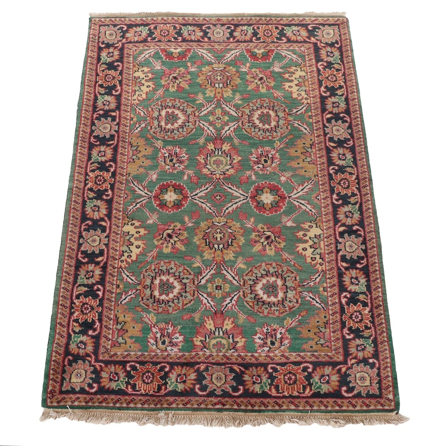 3'11 x 6'4 Hand-Knotted Indo-Persian Tabriz Rug