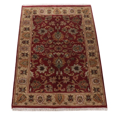 4'1 x 6'4 Hand-Knotted Indo-Persian Tabriz Rug