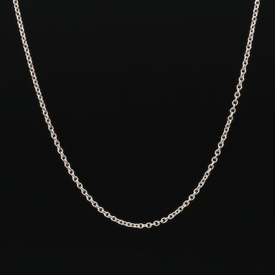 Elsa Peretti for Tiffany & Co Sterling Cable Chain