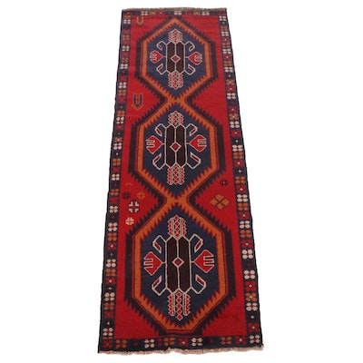 2'7 x 8'0 Hand-Knotted Persian Baluch Runner Rug