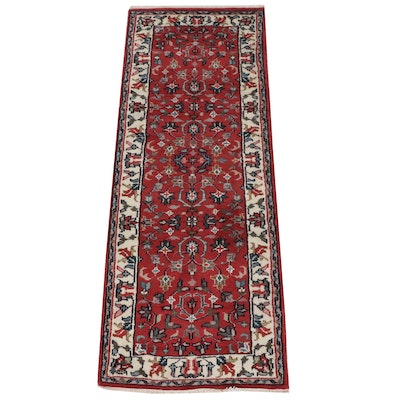 2'5 x 6'8 Hand-Knotted Indo-Persian Tabriz Runner Rug
