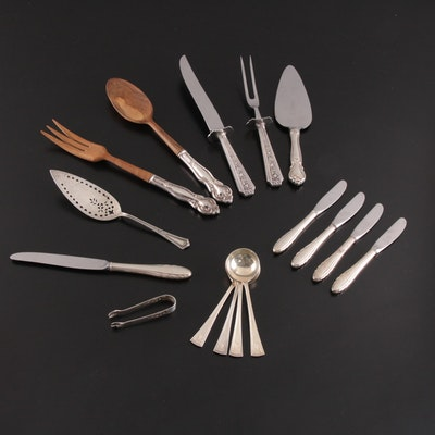 Gorham and Other Sterling Silver Serving Utensils, Late 19th/Early 20th Century