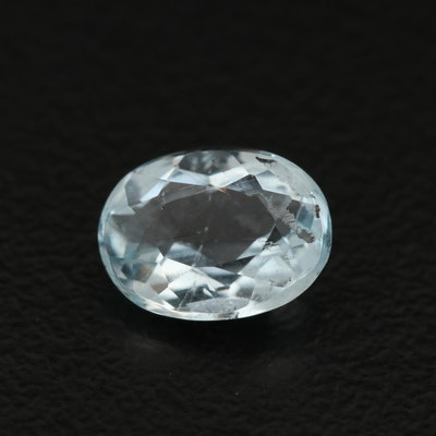Loose 1.23 CT Aquamarine