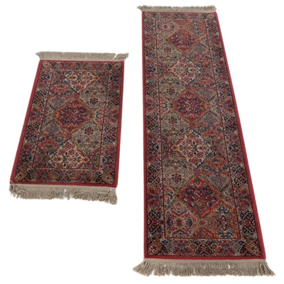 "Karastan Power-Loomed ""Kirman"" Runner and Accent Rug"