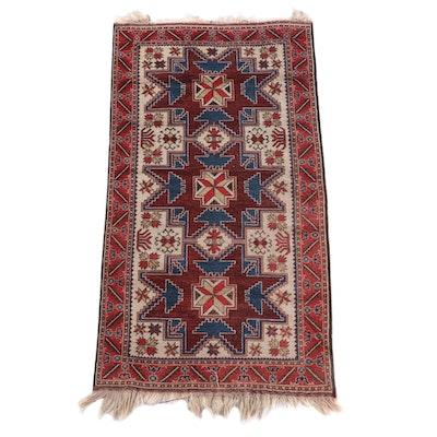 3'4 x 6'7 Hand-Knotted Persian Kelardasht Wool Rug