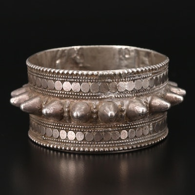Omani Bossed Bangle Bracelet