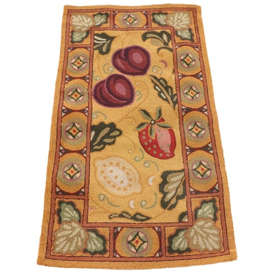 2'6 x 4'5 Hand-Hooked Chinese Wool Rug for The Rug Gallery