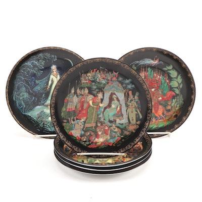 "Tianex ""Russian Legends"" Porcelain Collector Plates, 1988–1990"
