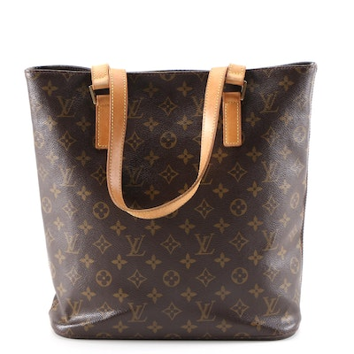 Louis Vuitton Vavin GM Tote Bag in Monogram Canvas and Vachetta Leather