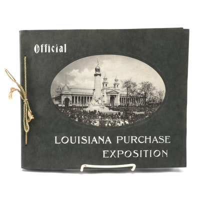 """""""Louisiana Purchase Exposition"""" St. Louis World's Fair Pictorial Booklet, 1904"""