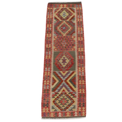 2'0 x 6'5 Handwoven Turkish Caucasian Kilim Runner Rug