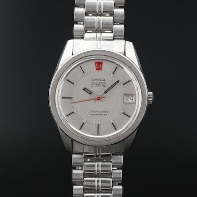 Omega Electronic Seamaster Chronometer Wristwatch