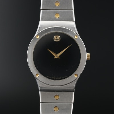 Movado Museum Stainless Steel Wristwatch