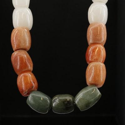Jadeite Bead Necklace