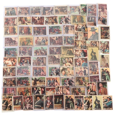 "1958 Topps Walt Disney ""Zorro"" Non-Sports Trading Cards"
