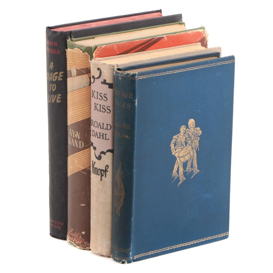 First and Early Edition Fiction Including Roald Dahl and Rudyard Kipling
