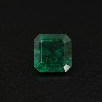 Loose 0.70 CT Emerald Cut Emerald