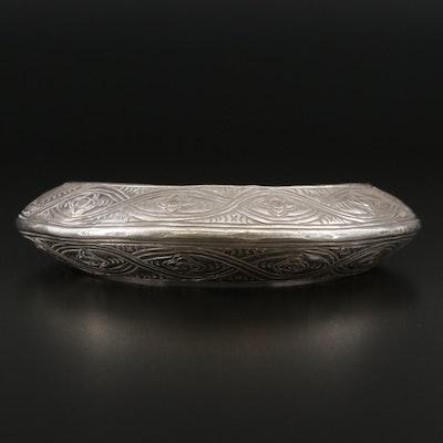 Antique Omani Baluchi Sterling Silver Anklet